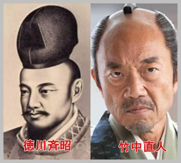 竹中直人と徳川斉昭